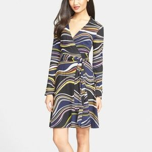 Diane Von Furstenberg DVF Silk Wrap Dress size12